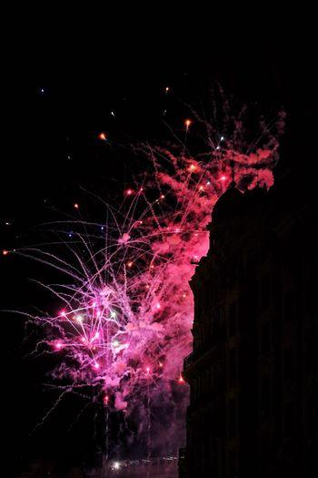Fallas 2019 SPAIN España València Valencia, Spain Unesco Fallas2019 Fallas Celebration Night Illuminated Event Firework Motion Exploding