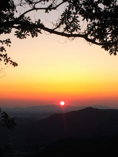 Dawn pyrenees