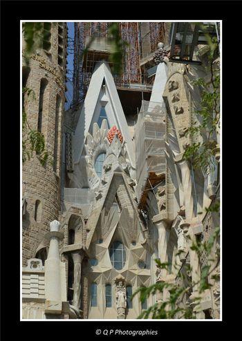 Barcelona Barcelone Sagrada Familia Detail SPAIN Architecture Catalunya Costa Brava Espagne Gaudi
