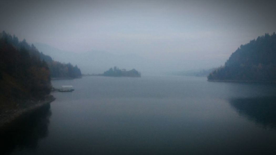 Lake View Lake Lakeview Autumn Foggy Foggy Lake Darkart Twin Peaks Peaceful Silence State Of Mind