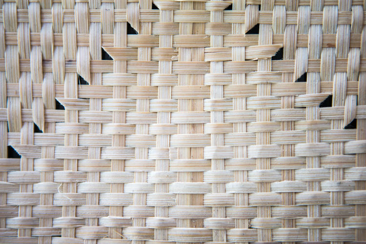 Wicker Pattern Backgrounds Woven Art And Craft Full Frame Close-up Basket No People Textured  Craft Textile Creativity Brown Intertwined Bamboo - Material Crisscross Container Wood - Material Man Made Object