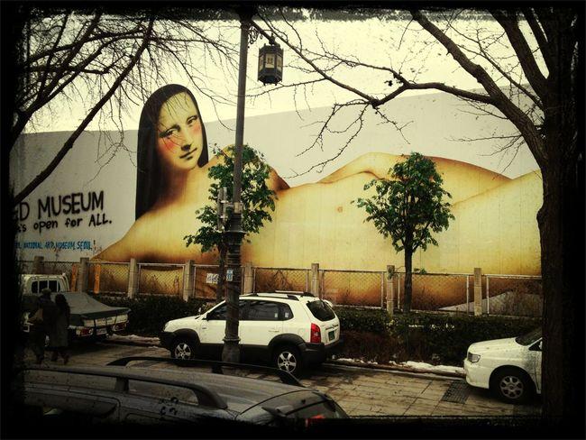 Monalisa naked museum, open for all #yfelix8 #i4s #ibalinesia
