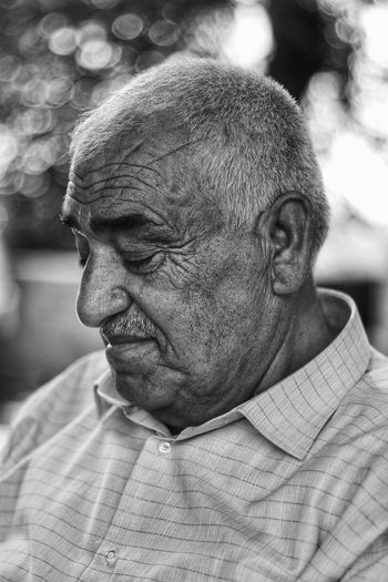 Blackandwhite Black & White B&W Portrait B&w PortraitPhotography Old Yaşlı Portre Men Close-up Thinking 54-59 Years Head And Shoulders Disappointment