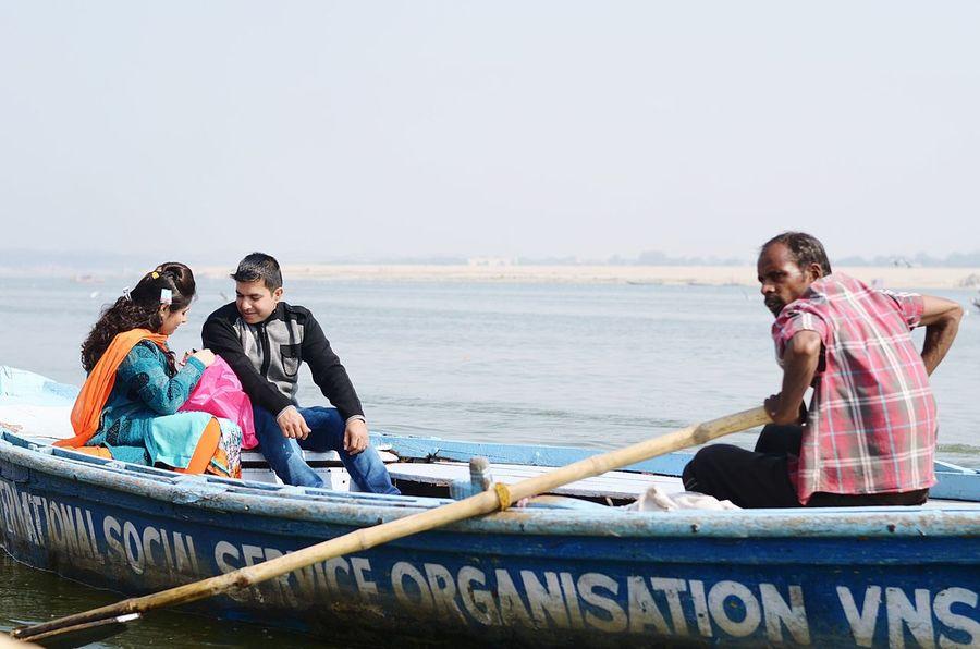 Love is in the Air First Eyeem Photo Thankyou Love Varanasi Varanasi, India Ganges, Indian Lifestyle And Culture, Bathing In The Ganges, Blackandwhite People HumansOfIndia Nikonphotography Nikon D5100  Nikon India Indiantraveller Peopleofeyeem