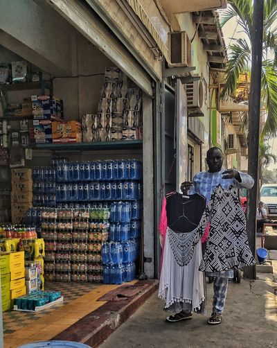 Dakar Real People Rear View Architecture Built Structure Men Building Full Length Day Lifestyles Women People Building Exterior Adult Leisure Activity Place Of Worship Architectural Column