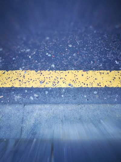 Asphalt Yellow Textured  Road Street No People Transportation Outdoors Day Close-up Backgrounds Waiting For The Bus