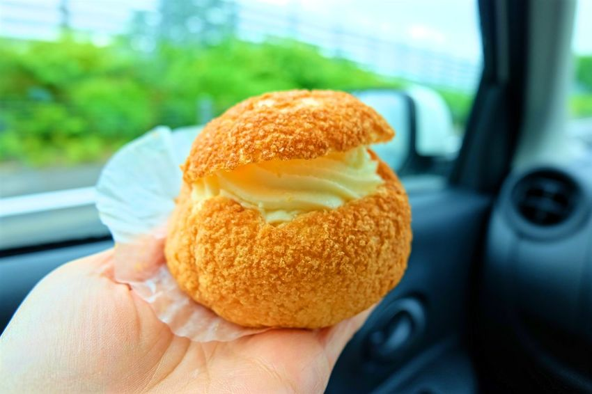 Choux Cream Choux à La Crème Chu Cream Cream Food Food And Drink Food And Sweets Japanese Food Japanese Sweets Soft Choux Cream Yummy