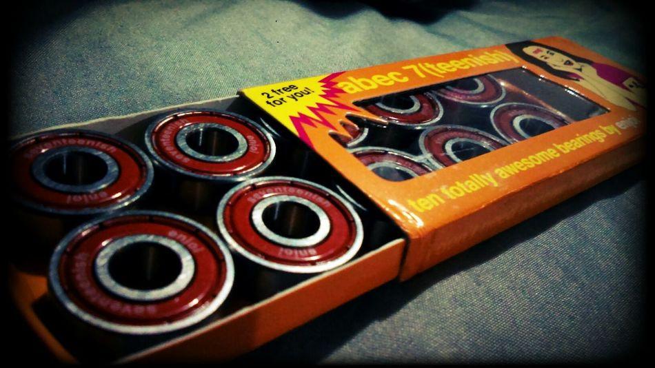 ENJOI Skateboard Bearings New