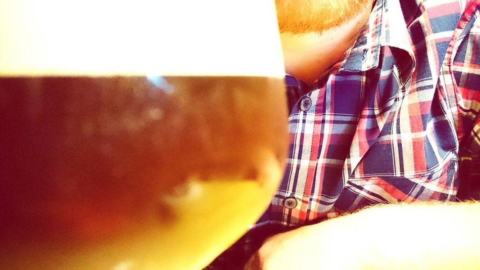 Flannel Red Beard Beard Beer House Friend Guinness Cold Coffee Coffee
