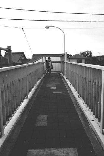 キメてみた。 First Eyeem Photo Article On The Bridge Friends Dog Blackandwhite Portrait Of A Friend