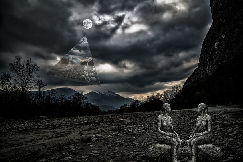 Time Love Tirol From My View Nature Ggaßler Hello World 2018 Sony Austria Photography Composing Stone Kematen Zeiss Sonyalpha Astronomy Moon Mountain Spooky Moonlight Snow Sky Full Moon