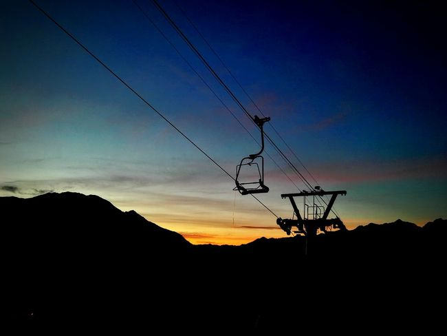 Cable Sky Landscape Mountain Nature Goodmorning EyeEm  Seggiovia Technology Outdoors Morningcolors Mountainview Electricity  Connection No People Overhead Cable Car Autumn Colors EyeEm Nature Lover Eyeemphotography EyeEm Best Shots