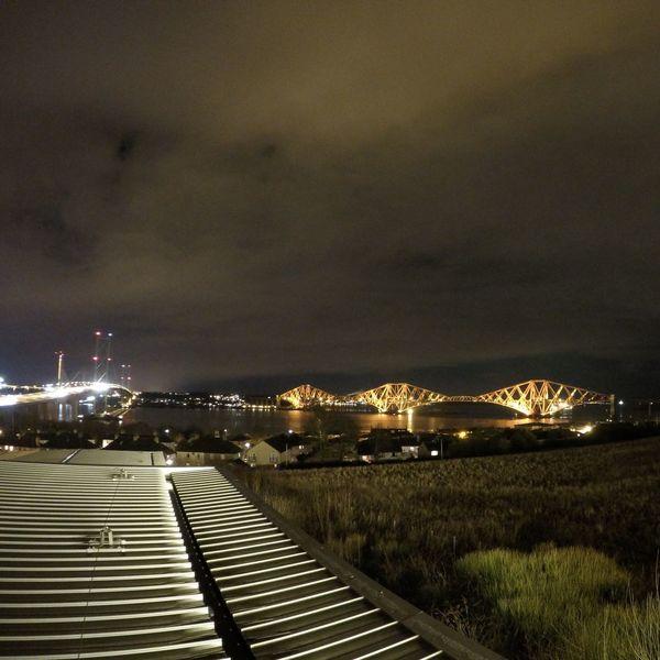 ForthRailBridge ForthRoadBridge  Goprohero4black Nightphotography Nightshot