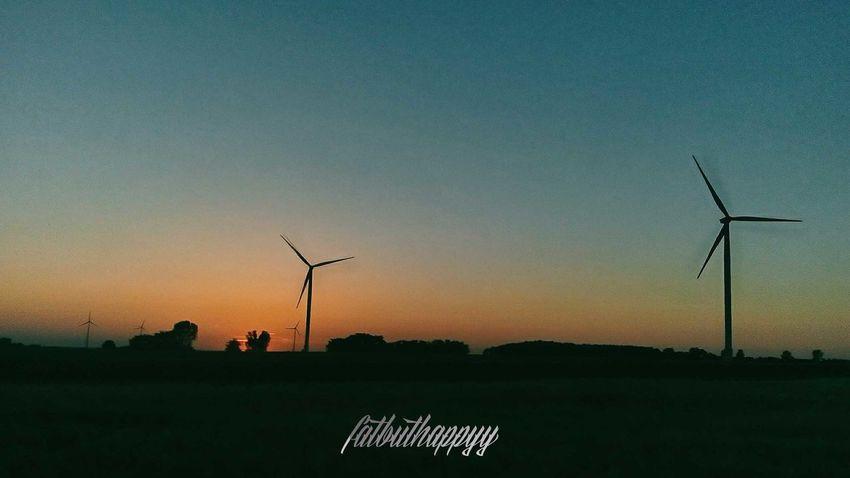 Śmigiel Wielkopolska Outdoors No People Sunset Wind Power Beauty In Nature Alternative Energy Sky Electricity  Technology Nature Wind Turbine Architecture Tree Wonderland Travel Fatbuthappyy 2k17 Summer