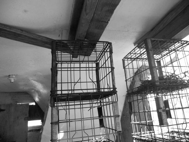 Milk crates left for years Hidden Gems  Savannah Georgia