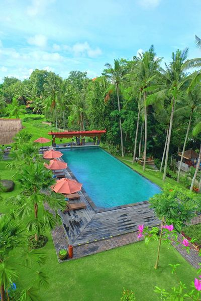 Pool at The Artini Resort, Ubud Swimming Pool Travel Vacations Travel Destinations Tourist Resort Outdoors Nature Sky Landscape High Angle View Luxury Relaxation Fotography Garden Photography Holidays Nature Beauty In Nature Hotel Hotel View Hotelview Resort Hotel Hotels And Resorts Ubud, Bali Green Color Holiday - Event