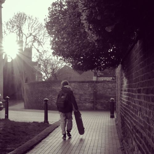 Home time. Black And White Bridgnorth Leica Leicat Streetphoto_bw Streetphotography Noedit