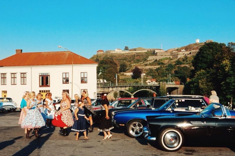 I Love My City Norway Halden Back To The 50's American Cars American Cars Vintage Dancegroup Vintage Cars Vintage Retro