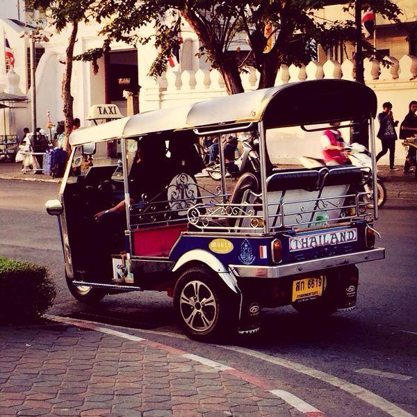 Tuk Tuk - Thailand Traveling