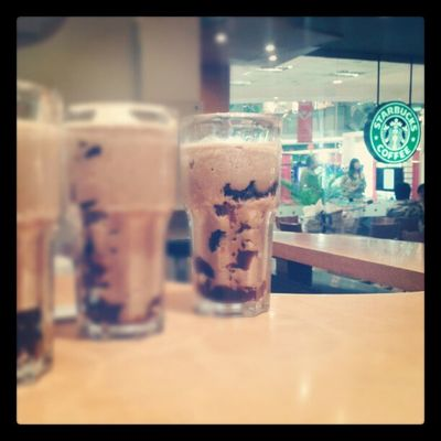Hojicha Frappucinno @SbuxIndonesia Coffee INI Katanya Enak lho nyummm