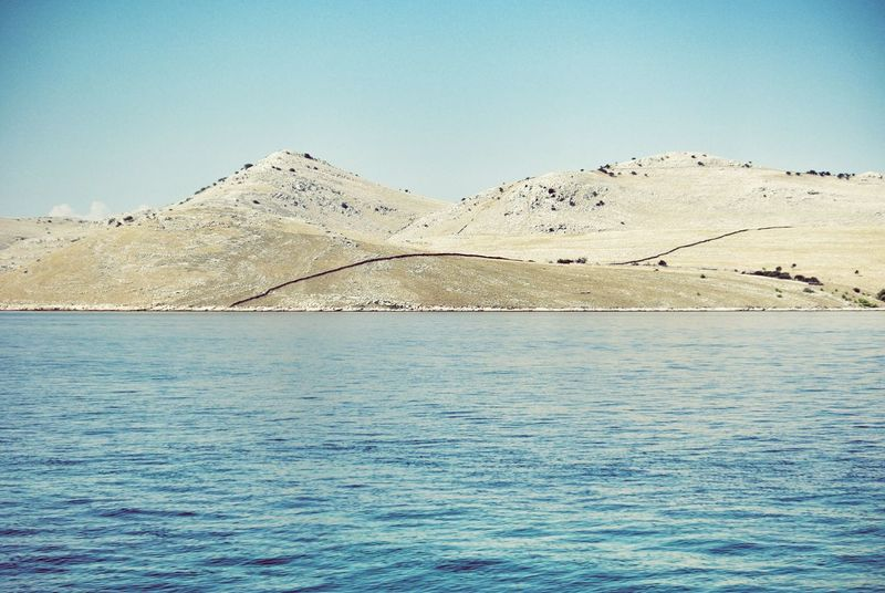 Sea Seaside Landscape Landscapes With WhiteWall Mediterranean  Cornati Croatia Islands Seascape Travel Geology Fence Line Travel Photography Summer Holiday Traveling Nature Treasure The KIOMI Collection