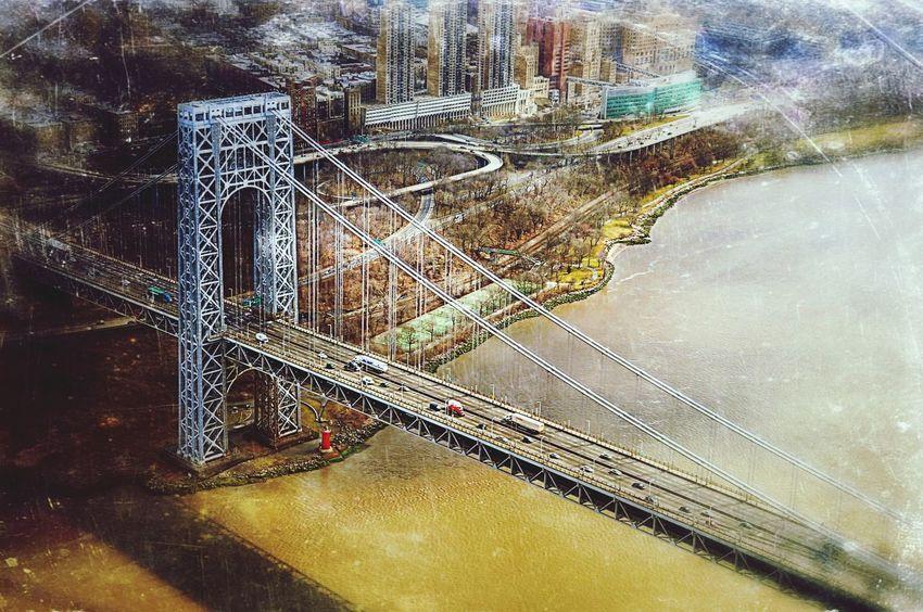 Brooklyn Bridge from above Urban Landscape The Best Of New York New York
