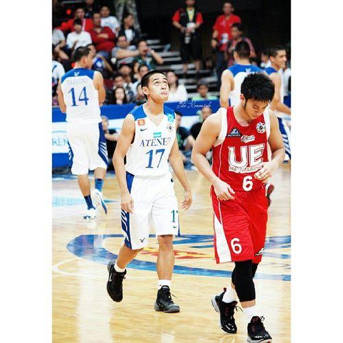 Asuncion vs Sumang @franasuncion Uaap76 Basketball Franasuncion Roisumang themanansala photography admu ue ateneoblueeagles ueredwarriors instagraphy meme