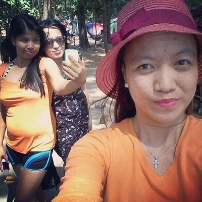 Double Selfie Times2 Anawangin Summer2014 Happykid