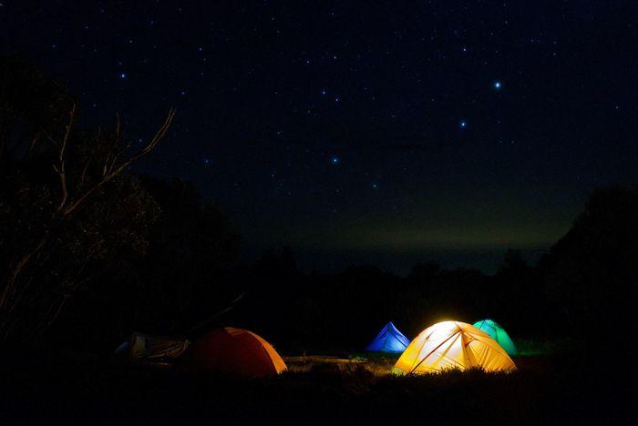 Night Tent Camping Star - Space Sky Nature Environment Astronomy Outdoors Scenics - Nature Illuminated Hiking Adventure Trekking Night Sky Leica