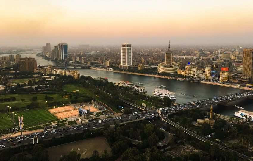 City Cairo Egypt Cairo Tower Cairo City Buildings Buildings & Sky Trees Green Area Top Top View Discover Your City Travel Destinations