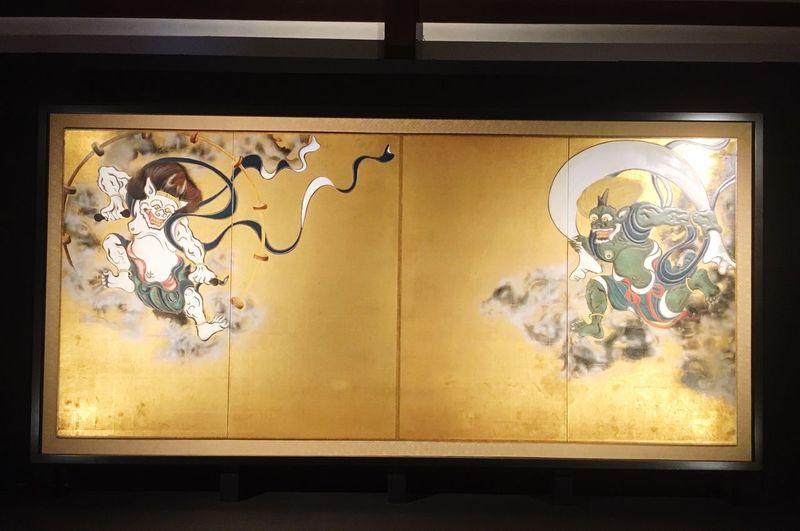 建仁寺 Temple Beautiful Japanese Culture Human Hand Kyoto Kyoto, Japan Art 風神 雷神 風神雷神図屏風