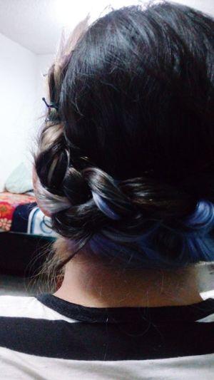 Braid Purple Hair