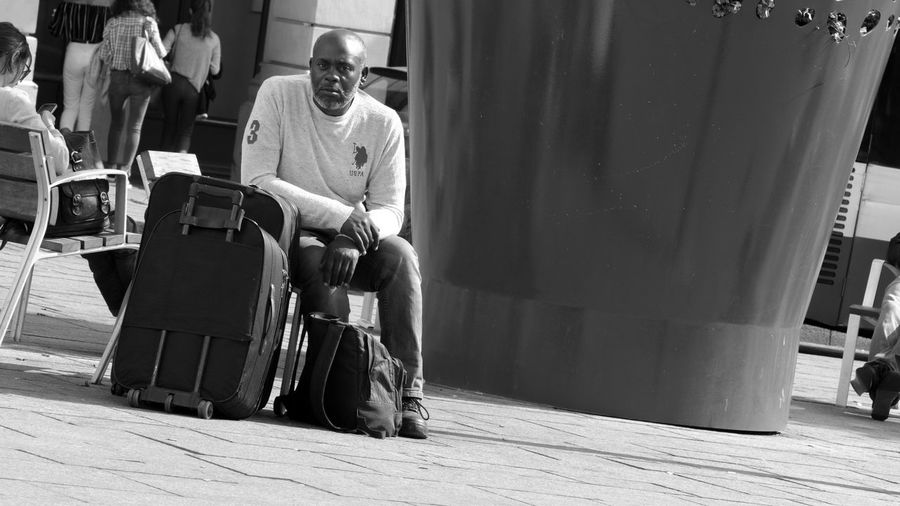People And Places Men Outdoors EyeEmBestPics Capture The Moment EyeEm Best Shots EyeEm Gallery Outdoor Photography B&w Street Photography B&w Photography Paris, France  Paris The Changing City франция Париж I Love My City