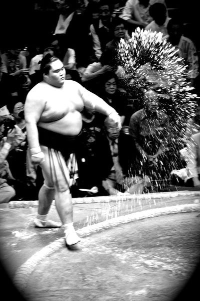 Before the Bout Basho Sumo Sports Photography B&w Street Photography Black & White Japan Photography Japan Monochrome Blackandwhite Japanese Culture