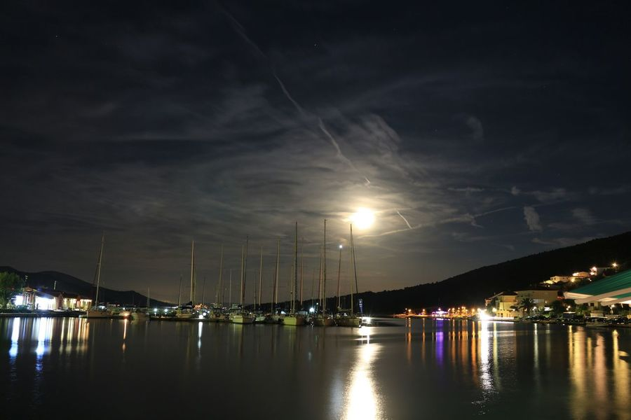 First Eyeem Photo Long Exposure EyeEm Best Shots - Long Exposure Canon700D Water Reflections Nightshot Watershots Night Lights