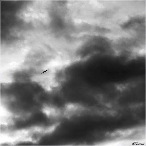En contraste Black&white Sl1000 Asturias Sky And Clouds Blackandwhite