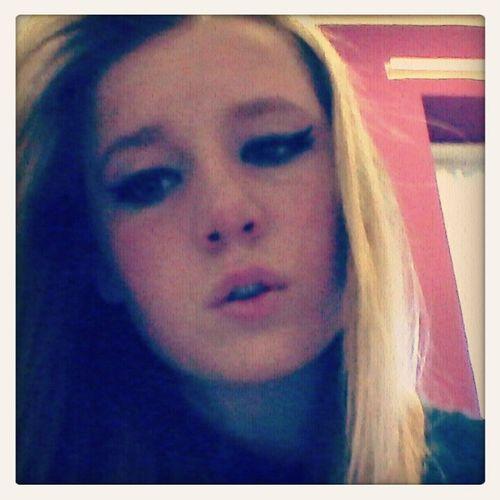 ♥Eye Make Up Eyeliner ✌Peace✌ Chick ♥