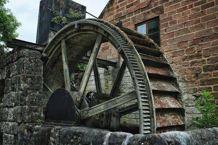 Architecture Built Structure Building Exterior Low Angle View Outdoors No People Mill Mill Wheel