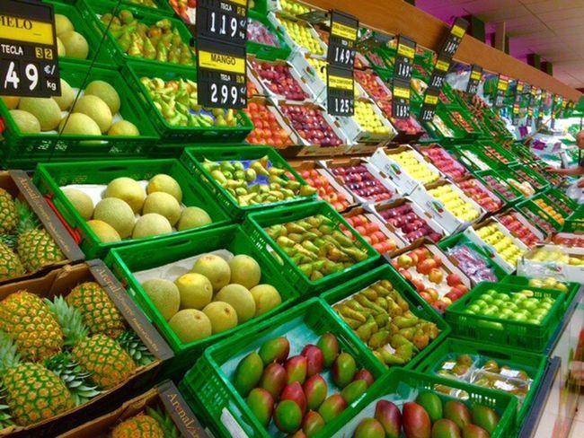 Fruit Exotic Fruits Duquesa SPAIN Beautifully Organized