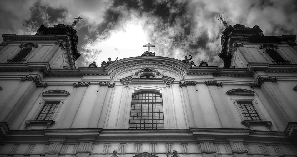 Holy Cross Church Warsaw Warszawa  Architecture Sky History Cloud Chopina Heart Bury Church Poland Polska