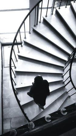 A Bird's Eye View Black & White Stairs Randomshot B&w Addis Ababa EyeEm Gallery Phonecamera PhonePhotography Eyemphoto