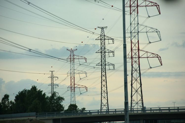 Very cute Transmission Line Tower in Finland