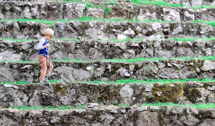 Showcase March Greenery Stone Walls Wanderlust Exploring Exploring Nature Nature Lets Get Lost Adventure Boy With Hat Little Boy Stone Steps Showcase: March Share Your Adventure