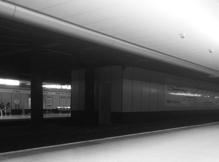 Glasgow  Queen Street Station Railway Rail Railway Station Train Station Underground Station  Lower Level My Commute Travel Streetphotography Blackandwhite Black & White Black And White Bnw Monochrome Monochrome Photography