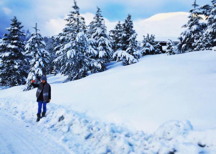 Selfies in the snow. Snow Selfies Norway Nature Winter Winter Wonderland Ice Trees Stryn Beautiful Nature