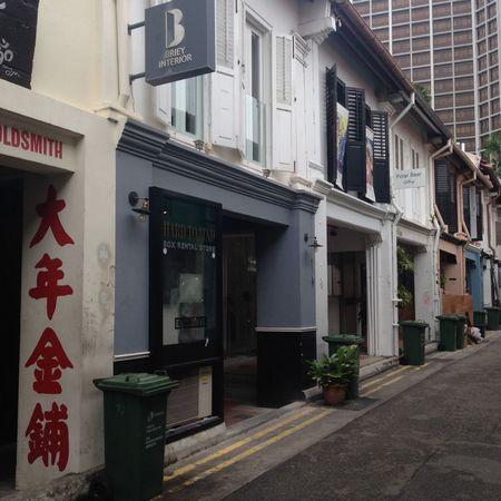 Haji Lane, Singapore Rubbish Rubbish Collection Shop Houses Shutters Singapore Streetphotography Windows