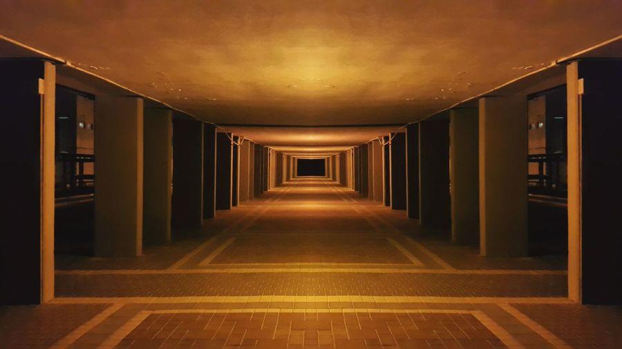 Brown Night EyeEm Straight Silent Building Deceptively Simple Recursion Hello World Alone