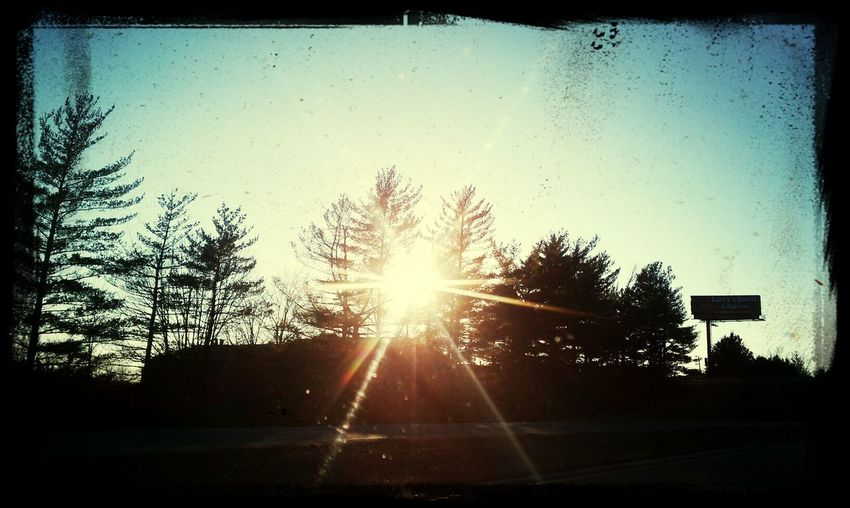 On the highway. Taking Photos Relaxing Sunsu. First Eyeem Photo