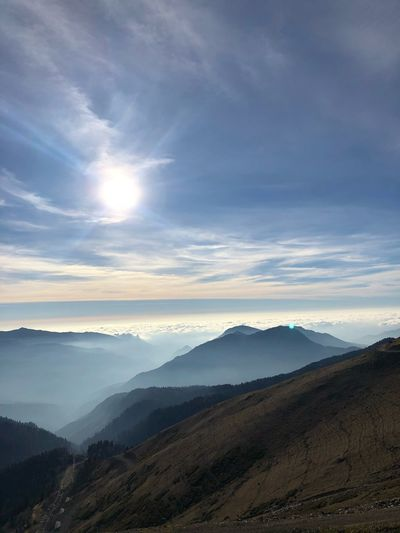 2320 Sochi EyeEm Nature Lover EyeEm Best Shots Environment Scenics - Nature Mountain Landscape Beauty In Nature Cloud - Sky Sky Nature Land No People Outdoors Morning Travel Mountain Range