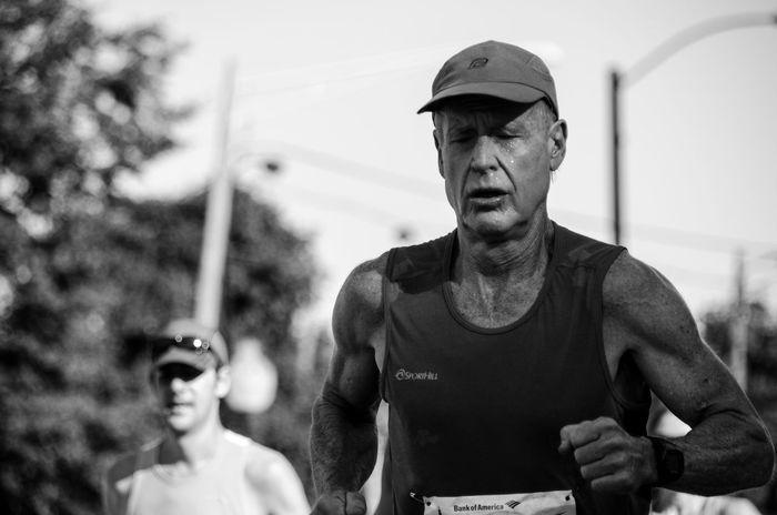 Old But Awesome Chicago Marathon Bnw Runner EyeEm Best Shots Marathon Running EyeEm Bnw